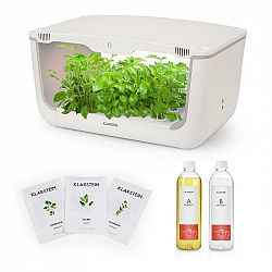 Klarstein GrowIt Farm Starter Kit Europe, 28 rostlin, 48 W, 8 l, semena Europe Seeds, živný roztok