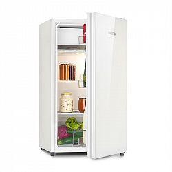 Klarstein Luminance Frost, chladnička, 91 l, A+, chladící prostor na zeleninu, 2 skleněné police, bílá