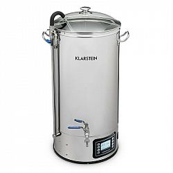 Klarstein Mundschenk XXL sladový kotel, zařízení na vaření piva sada 3000W 50l ušľachtilá oceľ
