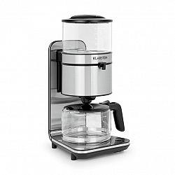 Klarstein Soulmate, kávovar, překapávací kávovar, překapávač, 1800 W, sklo, nerezová ocel, černý