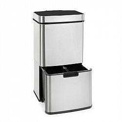 Klarstein TouchLess, odpadkový koš, senzor, 72 l, 4 nádoby, ABS / PP / ušlechtilá ocel
