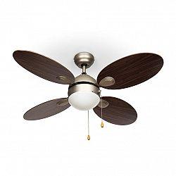 Klarstein Valderama, palisandr, stropní ventilátor, 42