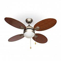 Klarstein Valderama, třešňové dřevo, stropní ventilátor, 42