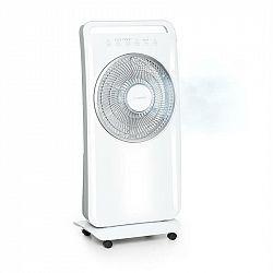 Klarstein Wildwater, stojanový ventilátor se zvlhčovačem vzduchu, 80W, 3690m³/h, 2,5l, bílý