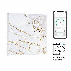 Klarstein Wonderwall Air Art Smart, infračervený ohřívač, 60 x 60 cm, 350 W, aplikace, mramor I