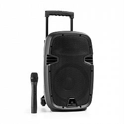 Malone Bushfunk 25, aktivní PA reproduktor, 500 W, bluetooth, akumulátor, USB, SD, MP3, VHF