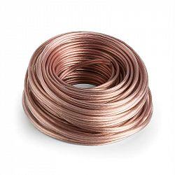 Numan reproduktorový kabel – OFC, transparentní, měděný, 2 x 2,5 mm2, 30 m