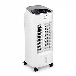 OneConcept Coolster, chladič vzduchu, ventilátor, ionizátor, 65 W, 320 m³/h, 4l nádrž, bílý