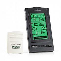 OneConcept Isfjorden, meteorologická stanice, alarm, provoz na baterie, 1x bezdrátový venkovní senzor
