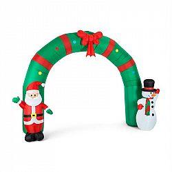 OneConcept Merry Welcome, 250 cm, nafukovací vánoční dekorace, brankový oblouk, LED