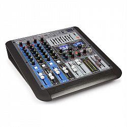 Power Dynamics PDM-S604, 6-kanálový mixážní pult, DSP / MP3, USB port, Bluetooth přijímač