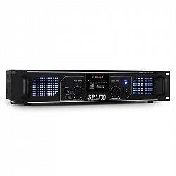 Skytec SPL-700 MP3 černý, PA HiFi zesilovač  USB/SD/MP3