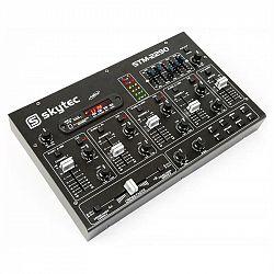 Skytec STM-2290, 6 kanálový mixér, bluetooth, USB, SD, MP3, FX