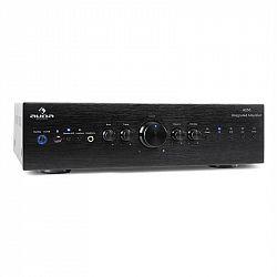 Stereo zesilovač Auna CD708, AUX phono, černý, 600 W