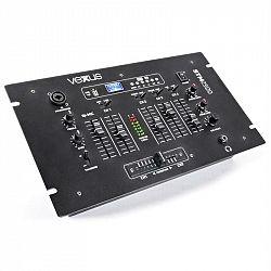 Vexus STM2500, černý, 5kanálový mixážní pult, bluetooth, USB, MP3, EQ, phono