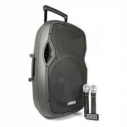 Vonyx AP1500PA mobilní PA zařízení 38 cm (15 '') bluetooth USB SD MP3 VHF nabíjecí baterie