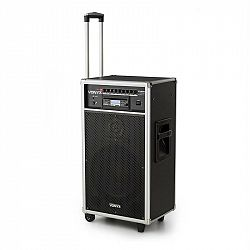 Vonyx ST180MKII, přenosný PA systém, 450 W, USB, SD / MMC pro MP3 CD přehrávače