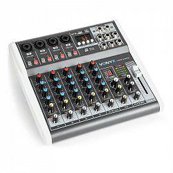 Vonyx VMM-K602 6kanálový hudební mixážní pult, bluetooth, USB-Audio-Interface