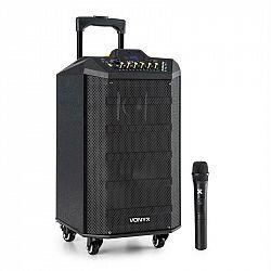 Vonyx VPS10, audio PA systém, 250 W, USB/SD port, bluetooth, 12 V / 4,5 Ah, baterie