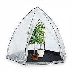 Waldbeck Greenshelter L, skleník k přezimování rostlin, 340 x 280 cm, ocelové tyče Ø 25 mm, PVC