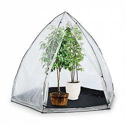 Waldbeck Greenshelter M, skleník k přezimování rostlin, 240 x 200 cm, ocelové tyče Ø 25 mm, PVC