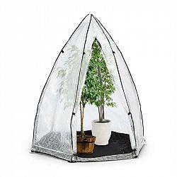 Waldbeck Greenshelter S, skleník k přezimování rostlin, 130 x 150 cm, ocelové tyče Ø 25 mm, PVC