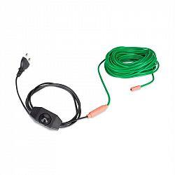 Waldbeck Greenwire Select 12, topný kabel pro rostliny, 12m, s termostatem, IP68