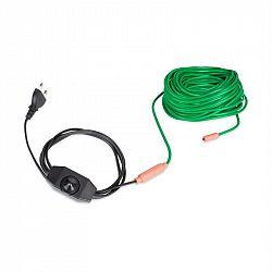 Waldbeck Greenwire Select 20, topný kabel pro rostliny, 20m, s termostatem, IP68