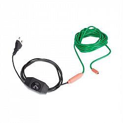 Waldbeck Greenwire Select 6, topný kabel pro rostliny, 6m, s termostatem, IP68