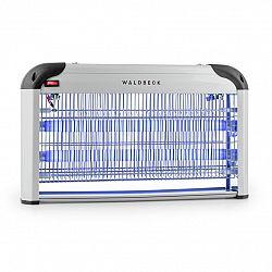 Waldbeck Mosquito Ex 5000, lapač hmyzu, 38 W, UV světlo, 150 m², stříbrný