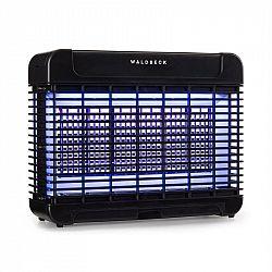 Waldbeck Mosquito Ex 5500, lapač hmyzu, 13 W, 150 m², LED diody, jímací miska, řetěz, černý