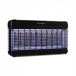 Waldbeck Mosquito Ex 9500, lapač hmyzu, 13 W, 300 m², LED diody, jímací miska, řetěz, černý
