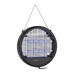 Waldbeck Skyfall RD, lapač hmyzu, 3,5 W, 150 m², LED diody, sběrná nádoba, řetěz, černý