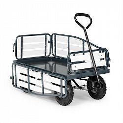 Waldbeck Ventura, ruční vozík, maximální zátěž 300 kg, ocel, WPC, černý