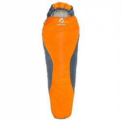 Yukatana Cabrilho, oranžový, 300 g/m3, mumiový spací pytel, pro mládež, výplň z dutého vlákna